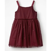 Star Tulle Party Dress Red Girls Boden, Red
