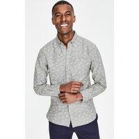 Oxford Shirt Grey Men Boden, Grey