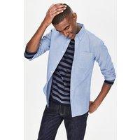 Slim Fit Oxford Shirt Blue Men Boden, Blue