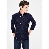 Boden Slim Fit Oxford Shirt Navy Men Boden, Navy