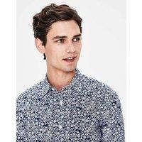 Boden Slim Fit Printed Twill Shirt Navy Men Boden, Navy