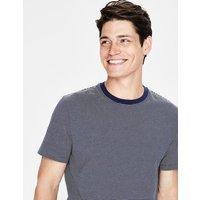 Boden Washed T-shirt Navy Men Boden, Navy
