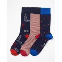 Favourite Socks Blue Men Boden, Blue