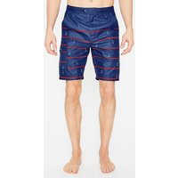 Board Shorts Blue Men Boden, Multicouloured Picture