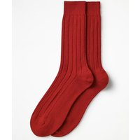 Cashmere Socks Navy Men Boden, Red