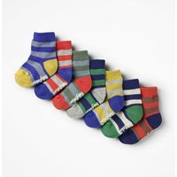 7 Pack Sock Box Multi Baby Boden, Multicouloured