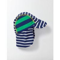 Animal Swim Hat Navy Baby Boden, Multicouloured