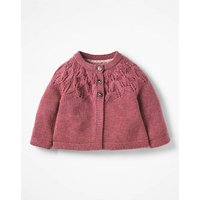 Cosy Cardigan Pink Baby Boden, Pink