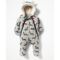 Cosy All-in-one Grey Baby Boden, Grey