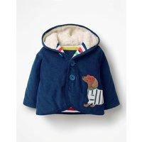 Appliqué Cord Jacket Blue Baby Boden, Blue