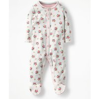 Pretty Printed Sleepsuit Multi Baby Boden, Multicouloured