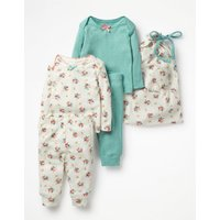 Cosy Pointelle Pack Multi Baby Boden, Multi