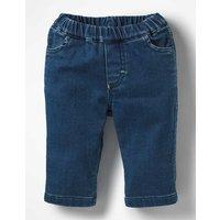 Jersey Denim Jeans Blue Baby Boden, Blue