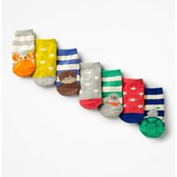 7 Pack Sock Box Multi Baby Boden, Multi