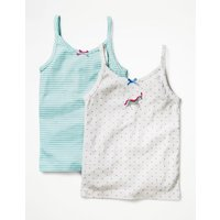 2 Pack Vests Multi Girls Boden, Multi