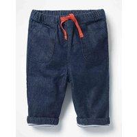 Pull-on Trousers Denim Baby Boden, Denim