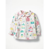 Printed Jersey Top Multi Baby Boden, Multi