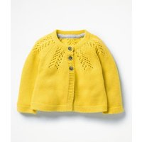 Cosy Cardigan Yellow Baby Boden, Yellow