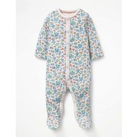 Pretty Printed Sleepsuit Multi Baby Boden, Multi