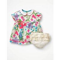 Peter Pan Collar Dress Multi Baby Boden, Multi