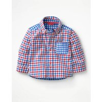 Smart Baby Shirt Red Baby Boden, Blue