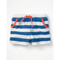 Towelling Shorts Blue Baby Boden, Blue