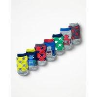 7 Pack Sock Box Multi Baby Boden, Multi