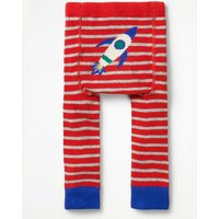 Knitted Leggings Red Baby Boden, Grey
