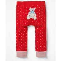 Knitted Leggings Multi Baby Boden, Red