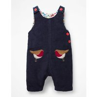 Fun Cord Playsuit Blue Baby Boden, Blue