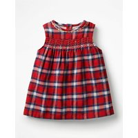 Festive Party Dress Red Baby Boden, Red