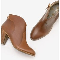 Hoxton Ankle Boots Brown Women Boden, Brown