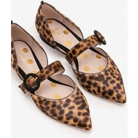 Boden Evie Pointed Flats Brown Women Boden, Brown
