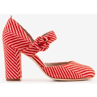 Evie Heels Orange Women Boden, Red