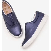 Boden Slip on Trainers Navy Women Boden, Navy