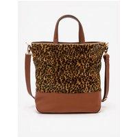 Rushwick Tote Bag Brown Women Boden, Leopard