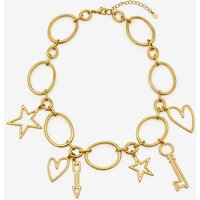 Charming Necklace Gold Women Boden, Gold