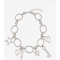 Boden Charming Necklace Silver Women Boden, Silver