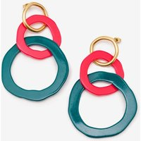 Boden Colourpop Earrings Green Women Boden, Green