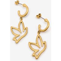 Boden Bird Charm Earrings Gold Women Boden, Gold