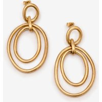 Boden Geometric Earrings Gold Women Boden, Gold