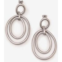 Boden Geometric Earrings Silver Women Boden, Silver
