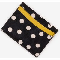 Leather Card Holder Black Women Boden, Black