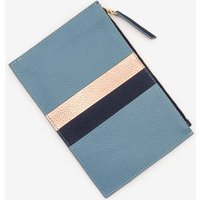Boden Leather Keepsake Pouch Blue Women Boden, Blue