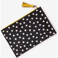 Boden Large Leather Keepsake Pouch Black Women Boden, Black