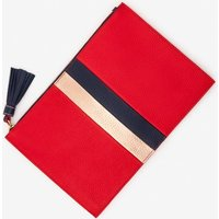 Boden Large Leather Keepsake Pouch Red Women Boden, Red