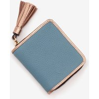 Boden Leather Square Tassel Purse Blue Women Boden, Blue