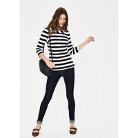 Sarah Ponte Top Navy Women Boden, Navy