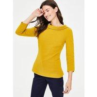 Sarah Ponte Top Yellow Women Boden, Yellow