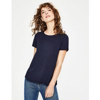 Supersoft Easy Tee Navy Women Boden, Navy